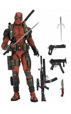 NECA Epic Marvel Deadpool 1/4 Scale Figure #00. Used.