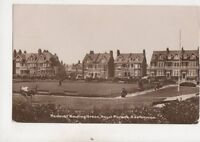 Redoubt Bowling Green Royal Parade Eastbourne Sussex 1913 RP Postcard 575b