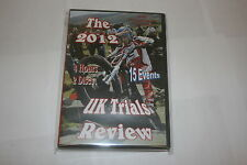 NEW DVD - 2012 UK TRIALS REVIEW -  2DISC (4HOURS) by CJB photographic