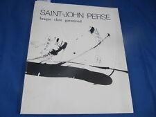 collectif Saint-john Perse Braque Clavé Garanjoud...