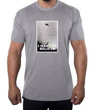 I Want to Believe UFO Men's Shirts, UFO Shirts, Funny Men's Shirts