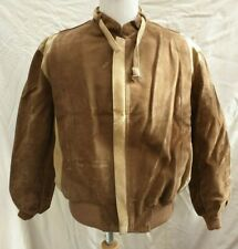 BNWOT mens bomber flight jacket fake shearling wadding lined size L-XL