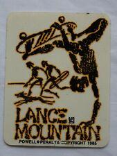 Vintage 1985 NOS Rare Powell Peralta Lance Mountain Skateboard Original Sticker