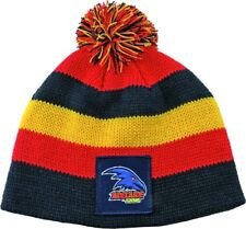 "AFL ADELAIDE CROWS ""NEW DESIGN"" BABY/TODDLERS BEANIE - BRAND NEW"