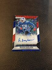 2016 Panini Prizm /11 Auto REGGIE RAGLAND RC Red White Blue Disco Chiefs (Crisp)