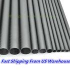 3K Carbon Fiber Tube OD5 6 8 10 12 14 16 18 20 22 25 30 32 40 50 60 x1M Pipe-