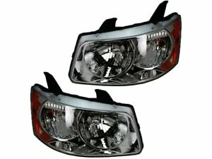 For 2006-2009 Pontiac Torrent Headlight Assembly Set 66841TX 2007 2008