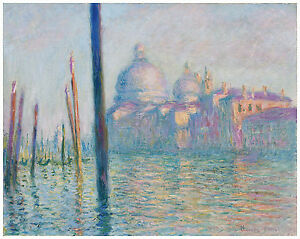 "Impressionism ""Grand Canal Venice"" Claude Monet ca. 1908"