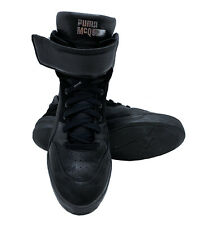 Puma x Alexander McQueen McQ Move Mid Black 10.5 US Mens Leather Sneakers 361484