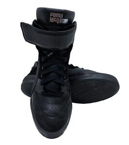 Puma x Alexander McQueen McQ Move Mid Black 10.5 US Mens Leather Sneakers 361484