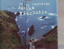 IN THE FOOTSTEPS OF AGATHA CHRISTIE Book HC Illustrated
