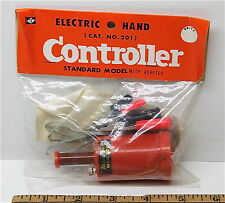 Vintage TRADESHIP 1/24 1/32 Slot Car STANDARD MODEL CONTROLLER +Alligator Clips!