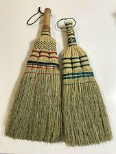 2 x Kamenoko Natural Handmade Broom Broomstick Mini Cleaning Japanese Never Used