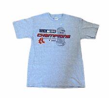 2004 Boston Red Sox World Series Champions Locker Room T-Shirt Mens Sz Medium