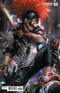 BATMAN #99 (2020) Francesco Mattina Cardstock CLOWNHUNTER Variant JOKER WAR!!