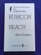 RUBICON BEACH - UNCORRECTED PROOF SIGNED BY STEVE ERICKSON