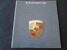 1985 Porsche Large Catalog 911 Carrera 944 928S Deluxe US Sales Brochure 928 S