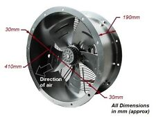 """Industrial Commercial Cased Axial Extractor Duct Fan 400mm (16"""") New"""