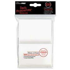 100 DECK PROTECTORS Bianco White MTG MAGIC Ultra Pro