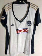 Adidas Women's MLS Jersey Philadelphia Union Team White sz L