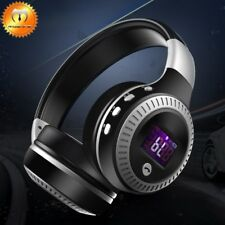 Bluetooth Headset Wireless Hi-Fi Stereo Foldable Headphones Earphones Universal