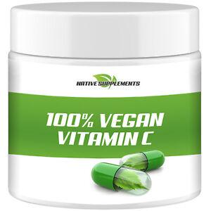 VITAMIN C PULVER 1 A Apotheken Qualität - Reine Ascorbinsäure Vegan Hochdosiert