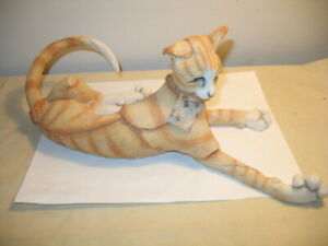 Country Artists A Breed Apart Nice Marmalade Cat 2002 Orange Tabby