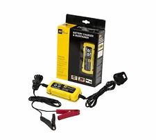 AA Coche Inteligente/Bicicleta Cargador De Batería Para 6V y 12V Ácido De Plomo Negro/Amarillo