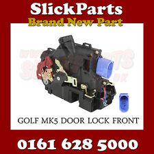 VOLKSWAGEN VW GOLF MK5 CENTRAL DOOR LOCK NSF PASSENGER SIDE FRONT 04 > 08 *NEW*