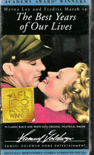 The Best Years of Our Lives (Vhs) 1946 Myrna Loy