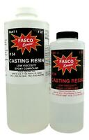 Epoxy Casting Resin - Dries Crystal Clear - 48 Oz Kit