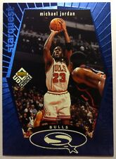 1998 98-99 UD Choice StarQuest Blue Michael Jordan #SQ30 Chicago Bulls, Insert