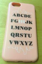 18 NUOVO Agent Flexshield iPhone 6 6s Rosa Alfabeto Hi Telefono Custodia Protettiva Cover
