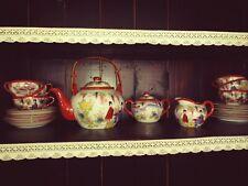 Chinesisches Porzellan Teeservice für 6 Personen 23- Teilig wie Neu