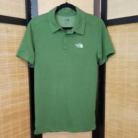 The North Face NWT Men's Sz S Plaited Crag Green Flash Dry Polo Shirt Soft