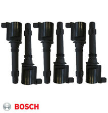BOSCH IGNITION COIL x6 for FORD FALCON BA BF 4.0L BARRA TERRITORY INC LPG TURBO