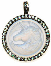 KIRKS FOLLY CLOUDWALKER UNICORN 35mm MAGNETIC ENHANCER  BRASSTONE / CRYSTAL AB
