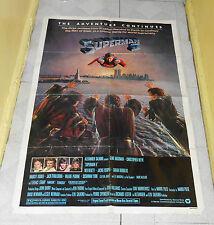 original SUPERMAN II one-sheet poster Christopher Reeve Margot Kidder
