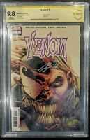 Venom 7 CBCS 9.8 Signature Series Double Signed by Donny Cates & Ryan Stegman