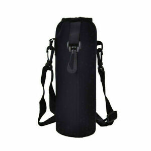 1000ML Water Bottle Carrier Insulated Cover Bag Holder Strap Pouch Outdoor new