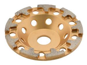 TRONGAARD PREMIUM DIAMANT SCHLEIFTELLER / SCHLEIFTOPF 125MM / 26mm BETON #656