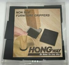 New In Package Non Slip Furniture Grippers Hong Way 16 piece Best Self Adhesive