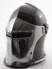 New Super Medieval Barbute Helme Armour Helmet Roman knight helmets.  ykk
