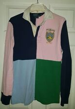 Polo By Ralph Lauren Rugby Country Club RLPC 9 Size Small men's custom fit pink
