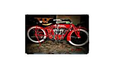 1919 Indian Power Plus Bike Motorcycle A4 Photo Poster