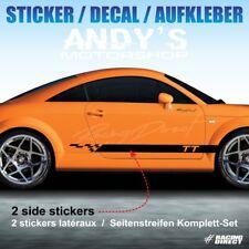 962 Seitenstreifen Aufkleber RACING für AUDI TT RS