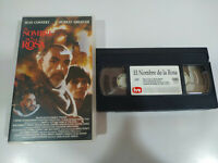 EL NOMBRE DE LA ROSA SEAN CONNERY VHS Cinta Español - 2T