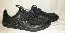 J. SHOES HOOP Deluxe LOW MEN SHOES Black Snake 6824 SIZE 12