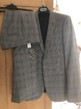 Topman Grey Printed Ultra Skinny Suit