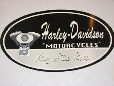 "HARLEY DAVIDSON KING OF THE ROAD XLG DECAL STICKER 11"" X 6.5"" (OUTSIDE)NEW"